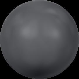 Жемчуг Swarovski 5810, Crystal Dark Grey Pearl, 6мм