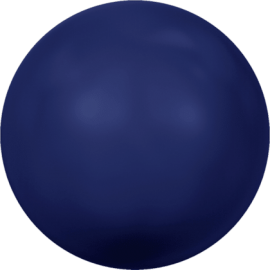 Жемчуг Swarovski 5810, Crystal Dark Lapis Pearl, 5мм