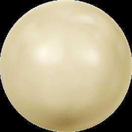 Жемчуг Swarovski 5810, Crystal Light Gold Pearl, 2мм