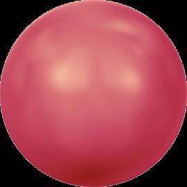 Жемчуг Swarovski 5810, Crystal Neon Red Pearl, 4мм