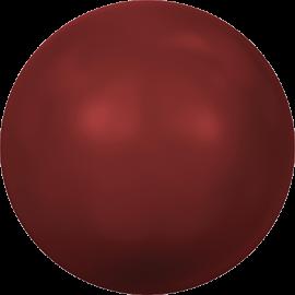 Жемчуг Swarovski 5810, Crystal Red Coral Pearl, 3мм