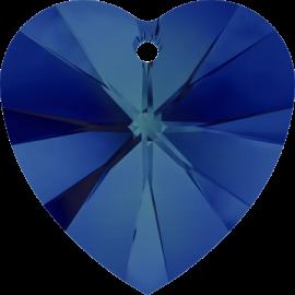 Подвеска Swarovski 6228, Bermuda Blue, 14,4*14мм