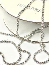 Стразовая лента Swarovski 127004P1400C K1H 1088 F 001, Crystal