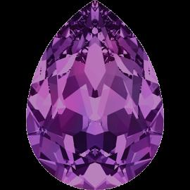 Кристалл в оправу Swarovski 4320, Amethyst, 10*7мм