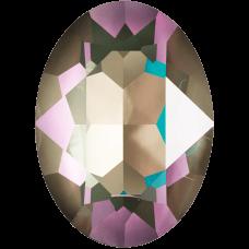 Кристалл в оправу Swarovski 4120, Crystal Army Green Delite, 18*13мм
