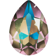 Кристалл в оправу Swarovski 4320, Crystal Army Green Delite, 18*13мм