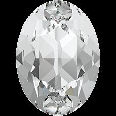 Кристалл в оправу Swarovski 4120, Crystal, 18*13мм
