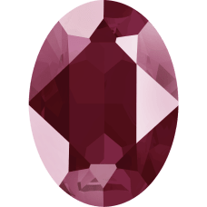 Кристалл в оправу Swarovski 4120, Crystal Dark Red , 18*13мм