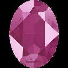 Кристалл в оправу Swarovski 4120, Crystal Peony Pink, 14*10мм