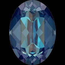 Кристалл в оправу Swarovski 4120, Crystal Royal Blue Delite, 14*10мм
