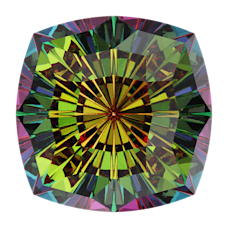 Кристалл в оправу Swarovski 4460, Vitrail Medium, 14мм