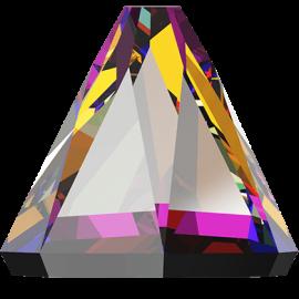 Стразы Swarovski 2019, Crystal Volcano, 4*4мм