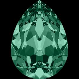 Кристалл в оправу Swarovski 4320, Emerald, 10*7мм
