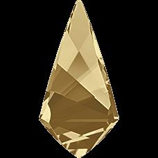 Кристалл в оправу Swarovski 4731, Golden Shadow, 18*9мм