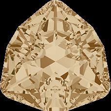 Кристалл в оправу Swarovski 4706, Golden Shadow, 17мм