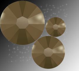 "Микс ""Metallic Light Gold"" (ss5,ss7,ss9) 30шт"