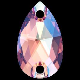 Нашивной кристалл Swarovski 3230, Rose Peach Shimmer, 12*7мм