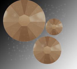"Микс ""Crystal Rose Gold"" (ss5, ss7, ss9) 30шт"