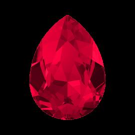 Кристалл в оправу Swarovski 4320, Scarlet, 10*7мм