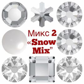 "Микс ""Snow Mix"" 106 страз"