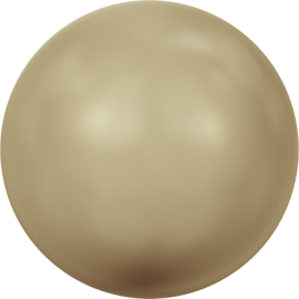 Жемчуг Swarovski 5810, Crystal Vintage Gold Pearl, 2мм