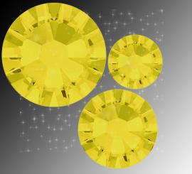 "Микс ""Yellow Opal"" (ss5,ss7,ss9) 30шт"